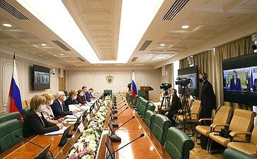 Совместное совещание Комитета СФ посоциальной политике сУполномоченным поправам человека вРФ