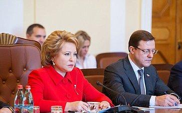 Официальный визит делегации Совета Федерации воглаве сВ. Матвиенко вРеспублику Армения
