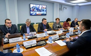 Заседание Временной комиссии СФ посовершенствованию правового регулирования всфере государственного имуниципального контроля