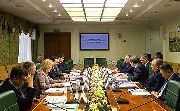 Совещание Комитета СФ поаграрно-продовольственной политике иприродопользованию натему «Омерах постимулированию развития цветоводства вРФ»