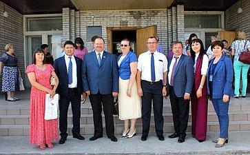 О. Мельниченко провел ряд встреч вмуниципальных образованиях Республики Хакасия иКрасноярского края