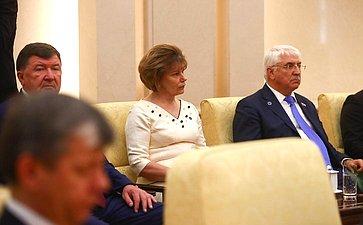 Встреча Председателя СФ В. Матвиенко сПредседателем КНР Си Цзиньпином