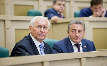 376-е заседание Совета Федерации. Тихомиров