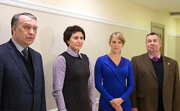 Татьяна Лебедева приняла участие воткрытии филателистической выставки вСовете Федерации