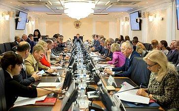 А. Кутепов провел заседание Комитета Совета Федерации поРегламенту иорганизации парламентской деятельности