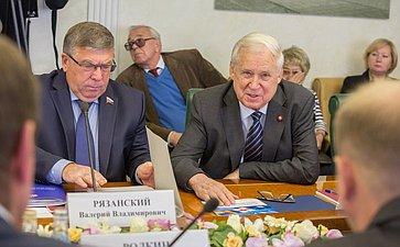 Н. Рыжков Заседание Комитета общественной поддержки жителей Юго-Востока Украины по вопросам оказания помощи беженцам