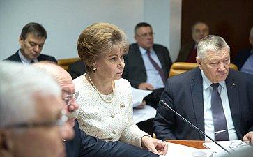 Заседание Экспертно-консультативного совета полесному комплексу пообсуждению Концепции Лесного кодекса РФ, разработанной Российской академией наук