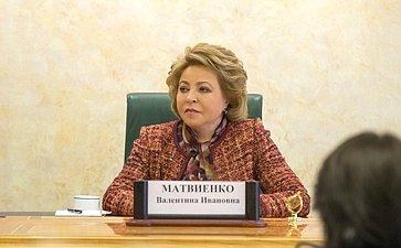 В. Матвиенко: Внесенный сенаторами законопроект позволит исключить распространение анонимных SIM-карт