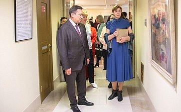 ВСовете Федерации открылась выставка «Образ твой, Россия»