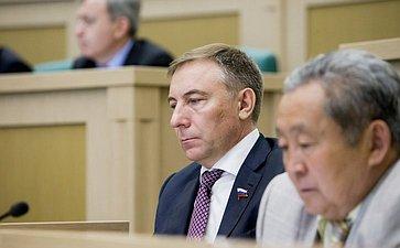 376-е заседание Совета Федерации. Варфоломеев