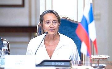 Председатель Комиссии повопросам экономики Сената Французской Республики Софи Прима