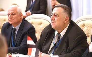 Валентина Матвиенко провела встречу сПредседателем Народного совета Сирийской Арабской Республики Хамудом Юсефом Ас-Саббагом