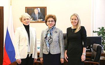 Г. Карелова встретилась спобедительницей международного конкурса женских предпринимательских проектов АТЭС