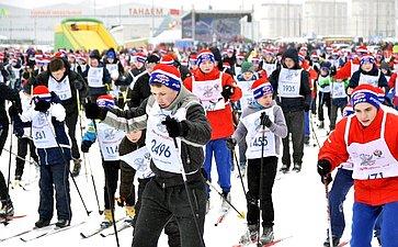 Тверской этап Всероссийской гонки «Лыжня России— 2018»