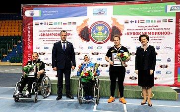 ВЮгре состоялся VI Международный инклюзивный турнир пожиму лежа «Кубок чемпионов»