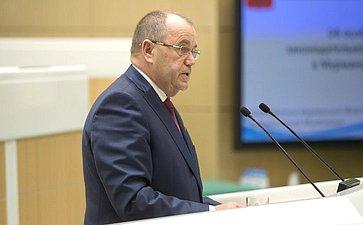 Председатель заксобрания Мурманской области С. Дубовой