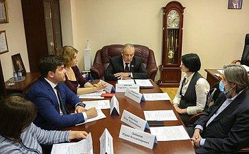 Оперативное совещание Комитета СФ поаграрно-продовольственной политике иприродопользованию