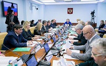 Расширенное заседание Комитет Совета Федерации понауке, образованию икультуре сучастием представителей Белгородской области