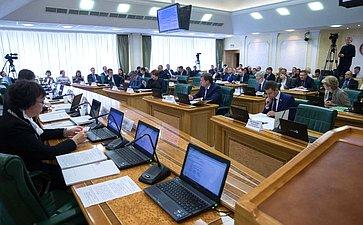 Заседание Комитета СФ побюджету ифинансовым рынкам