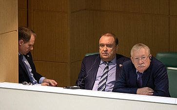 Выступление Президента Египта Абдельфаттаха Ас-Сиси вСовете Федерации