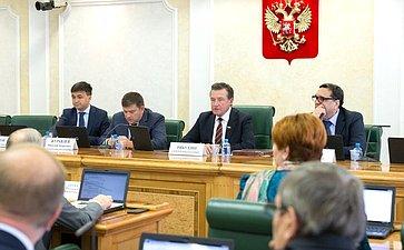 ВСФ состоялось заседание Комитета побюджету ифинансовым рынкам сучастием представителей Тульской области