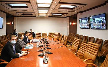 Совещание оходе исполнения Постановления Совета Федерации «Осоциально-экономическом развитии города Норильска Красноярского края»