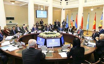 Делегация СФ принимает участие вмероприятиях весенней сессии МПА СНГ вСанкт-Петербурге