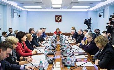 Заседание Комитета СФ понауке, образованию икультуре сучастием представителей государственной власти Челябинской области