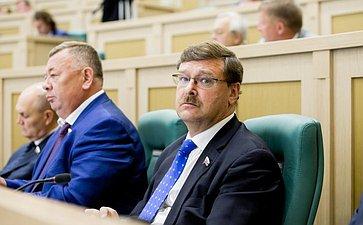 376-е заседание Совета Федерации Косачев