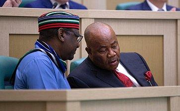 Председатель Сената Национальной ассамблеи Нигерии А. Сараки