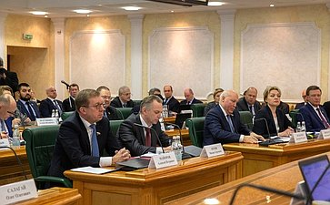 Ежегодное совещание Председателя СФ состатс-секретарями– заместителями руководителей федеральных органов исполнительной власти