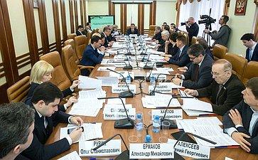Заседание Комитета Совета Федерации пофедеративному устройству, региональной политике, местному самоуправлению иделам Севера сучастием Представителей Кировской области