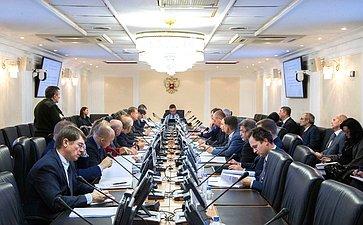 Заседание рабочей группы посовершенствованию законодательства Российской Федерации вобласти развития потребительской кооперации