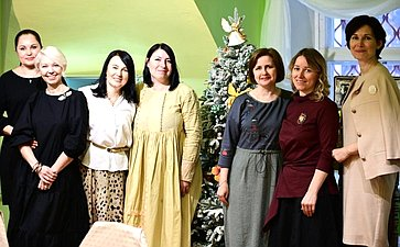 Ольга Епифанова приняла участие вторжественном открытии первого вМоскве Музея ватной игрушки