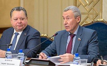 Заседание Временной комиссии СФ позащите государственного суверенитета ипредотвращению вмешательства вовнутренние дела РФ, посвященное итогам работы заосеннюю сессию