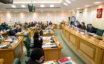 Заседание Совета поделам инвалидов при СФ