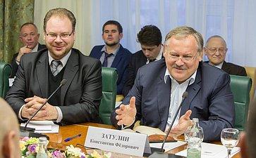 Заседание Комиссии по мониторингу ситуации на Украине при Комитете Совета Федерации Затулин
