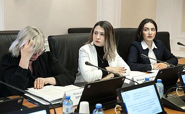 «Круглый стол» натему «Лучшие практики участия молодежных организаций впроведении общественного контроля зареализацией нацпроектов»