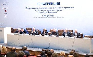 Конференция вСФ натему «Международные инациональные экономические программы как инструмент развития регионов Российской Федерации»