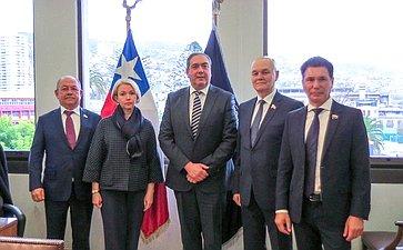 Рабочий визит делегации Комитета СФ поаграрно-продовольственной политике иприродопользованию вЧили