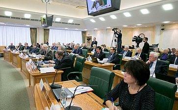 Заседание Научно-экспертного совета при Председателе СФ натему «Проблемы миграции внутри ивокруг России»
