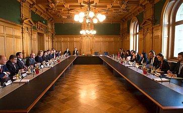 Встреча делегации СФ сПредседателем Совета кантонов Швейцарской Конфедерации Р.Контом