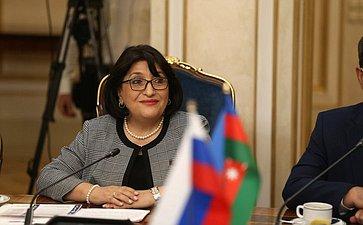 Председатель Милли Меджлиса Азербайджанской Республики Сахиба Гафарова