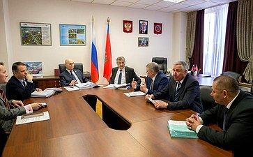 Встреча М. Щетинина спредставителями Забайкальского края