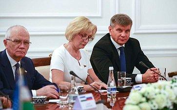 Фарит Мухаметшин, Инна Святенко, Геннадий Голов