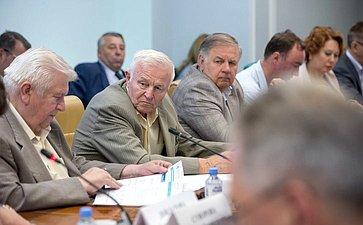 Заседание Организационного комитета «Водного конгресса-2019»