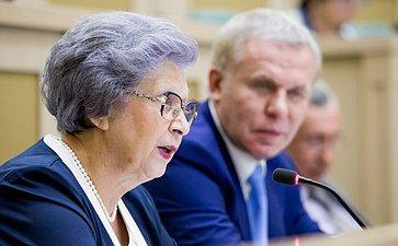 376-е заседание Совета Федерации. Горячева