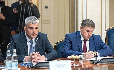 Встреча В.Матвиенко сПредседателем Парламента Республики Молдова