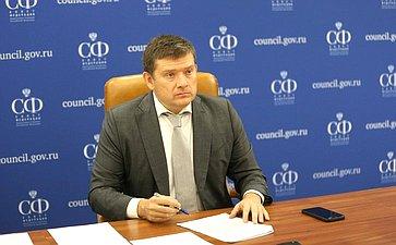 Николай Журавлев принял участие вПравительственной комиссии побюджетным проектировкам