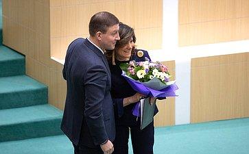 Андрей Турчак иМария Казеллати